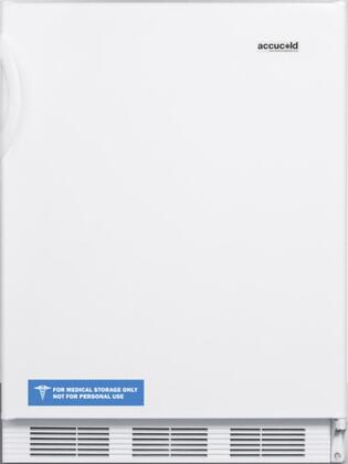 FF7ADA 24 inch  ADA Compliant  Energy Star  Medical  Commercial Freestanding Compact Refrigerator with 5.5 cu. ft. Capacity  Adjustable Shelves and Interior Light