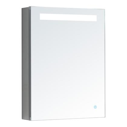 P-2026R Pacifica Series Medicine Cabinet with Cool Lightning  Electrical Outlet  Soft Close Right Hinge and Adjustable