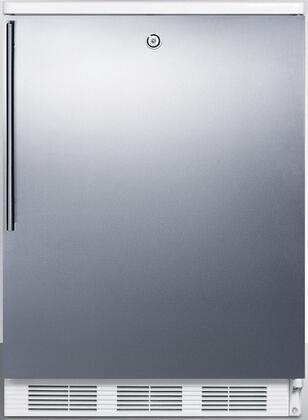 FF7LBISSHV 24 inch  FF7BI Series Medical  Commercially Approved Freestanding or Built In Compact Refrigerator with 5.5 cu. ft. Capacity  Seamless Interior