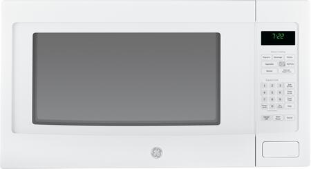 GE Profile Series 2.2 Cu. Ft. Full-Size Microwave White-on-White PEB7226DFWW