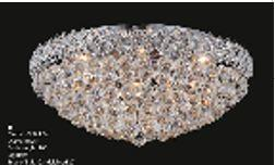 Firework Collection 99005F24C 24 inch  Wide Chandelier in Chrome