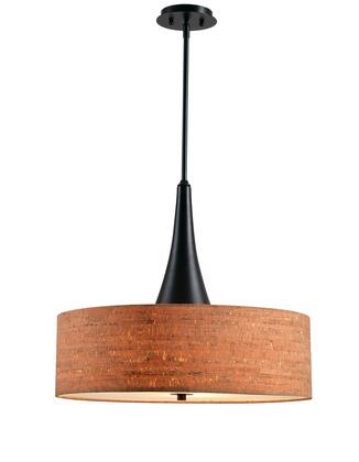 Bulletin 93013ORB 3-Light Pendant Ceiling Light with 22