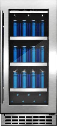 Danby DBC031D4BSSPR Piedmont 15 In. Single Zone Beverage Center