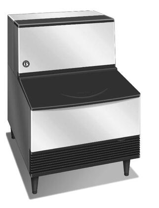"KM-201BAH 24"" Energy Star Rated Undercounter Self-Contained Ice Maker With 215 lbs. Daily Ice Production  80 lbs. Ice Storage  Crescent Ice Cube  EverCheck"