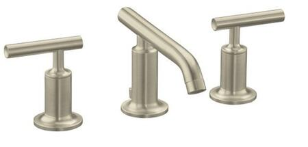 K-14410-4-BN Brushed Nickel W/Sidespray Ay Lavatory Faucet