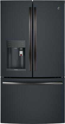 PFE28PELDS 36 inch  Energy Star  ADA Compliant French-door Refrigerator with 27.8 Cu. Ft. Capacity  TwinChill evaporators  Water and Ice Dispenser  Keurig K-cup