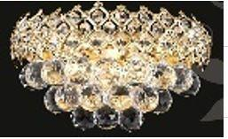 Firework Collection 99005WG 12 inch  Wide Wall Light in Gold