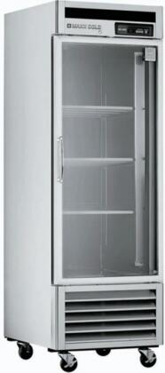 "MXCR-23FD 27"" X-Series Reach In Refrigerator with 23 Cu. Ft. Capacity  Painted Aluminum Interior  CFC-Free Polyurethane Insulation  Automatic Defrost System"