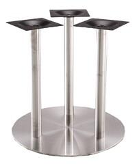 SS20-28D 28'' Triple Column High Quality Stainless Steel Dining Height