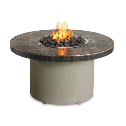 LFPCG Circular Fire Pit with 2 Stainless Steel Bowls  65 000 BTU Nautilus Stainless Steel Burner  T-Handle valve and Battery Push Button Spark Igniter: Falcon