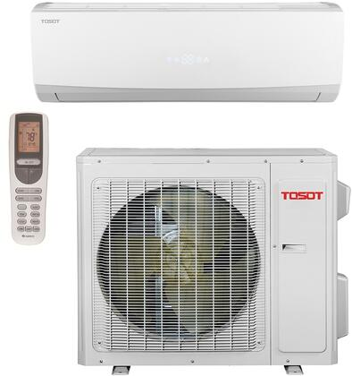 TW09HQ2C2A Single Zone Mini Split System with 10 000 BTU Cooling Capacity  9 900 BTU Heating Capacity  Turbo Function  115 Volts  Remote Control  and