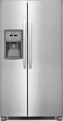 Frigidaire FFSC2323TS 36 Inch Freestanding Side by Side Refrigerator