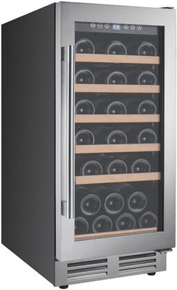 Avanti WCF281E3SS 28 Bottle Designer Series Wine Chiller with Seamless Door