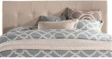 Duggan 1284HQR Queen Sized Bed with Headboard and Frame in Linen
