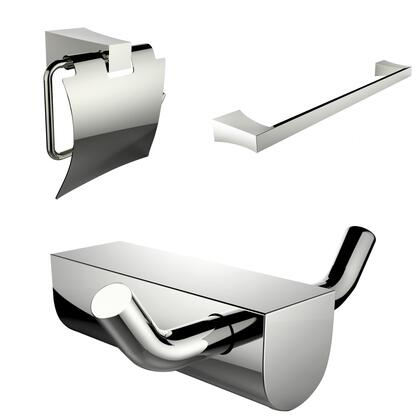 AI-13652 Single Rod Towel Rack  Robe Hook And Toilet Paper Holder Accessory