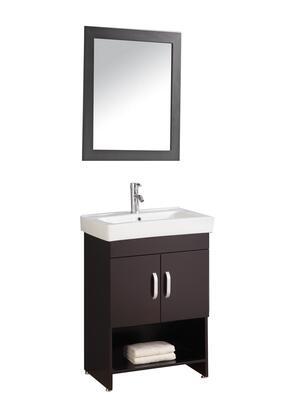 -8157E Greece 24 Single Sink Bathroom Vanity Set