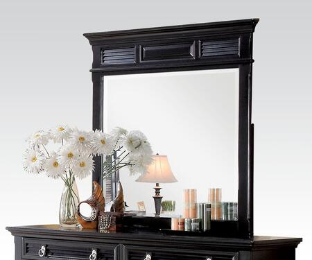 Merivale Collection 22444 43 inch  x 44 inch  Mirror in Black
