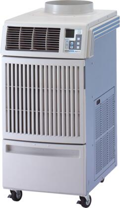 Office Pro 18 Portable Air Conditioner with 16 800 BTU Capacity  ETL Certified  Four Casters  Digital Control  Electronic Thermostat  Centrifugal Fan Type  and