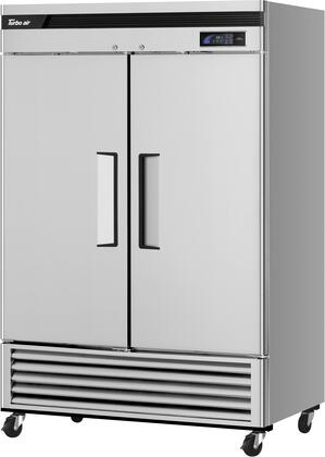TSR-49SD-N6 2 Door Reach In Refrigerator with 49 cu. ft. Capacity  Hydrocarbon Refrigeration  in Stainless