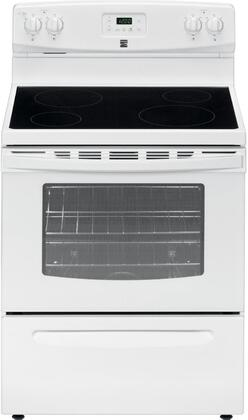 93012 30 Freestanding Electric Range with 4 Elements  4.9 cu. ft. Oven Capacity  Storage Drawer and Porcelain Cooktop in