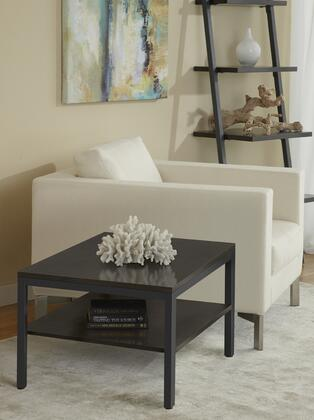 P2424S-ESP Espresso Square Corner End Table with