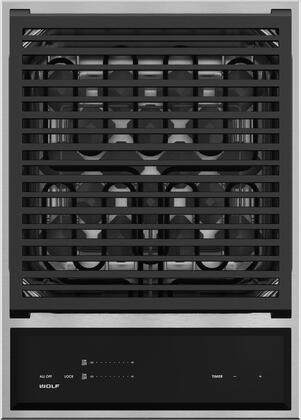 GM15TF/S 15 inch  Star K Certified Transitional Grill Module with 2 Heating Elements  2800 Total Watts  Integrated Design  and Lock  in Stainless