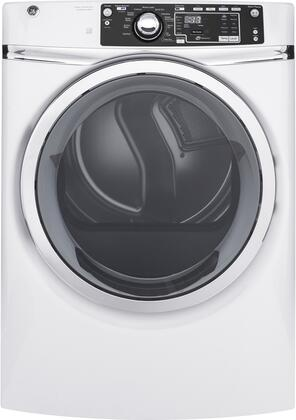 GFD48GSSKWW 28 Energy Star Rated Front Load Gas Dryer with 8.3 cu. ft. Capacity  13 Dry Cycles  Steam Refresh  HE Sensor Dry  and Stainless Steel