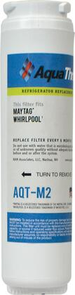 AQT-M2 Refrigerator Replacement Filter Fits Maytag  Whirlpool  UKF8001  EDR4RXD1