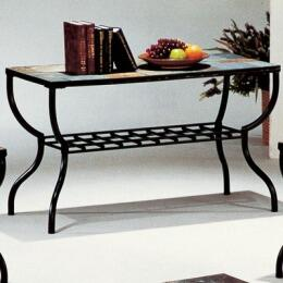 SA276SF Sashay 29-Height Sofa Table in Slate and Black Iron
