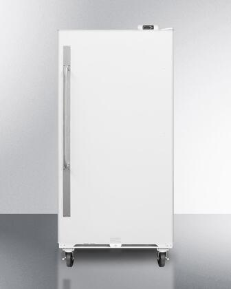 "SCUR Series SCUR18 34"" All-Refrigerator with 16.7 cu. ft. Capacity  Door Storage  Interior Light  Casters  Lock  Digital Thermostat and Commercially Approved:"