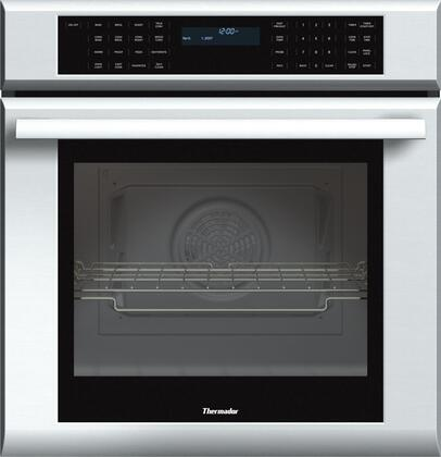 "MED271JS 27"""" Star-K Certified Masterpiece Series Single Electric Wall Oven With 4.2 Cu. Ft. Capacity  Self-Cleaning  2 Telescopic Racks  Sabbath Mode  And"" 253191"