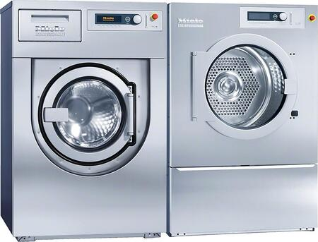 Commercial Laundry Pair with PW6137E 30 lb Capacity Washer and PT8337 35 lb Capacity Electric