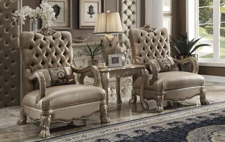 Click here for Dresden 52092CT 3 PC Living Room Set with 2 Accent... prices