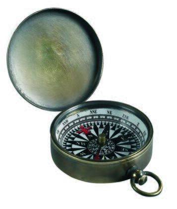 CO002B Small Compass  Bronzed 2.4