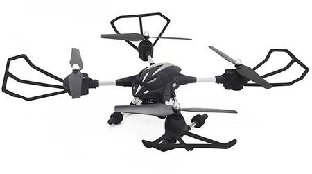 RIV-W606-2 RC Night Stalker Drone HD with 2.4ghz Remote Control  Built in Camera and LED Lights in