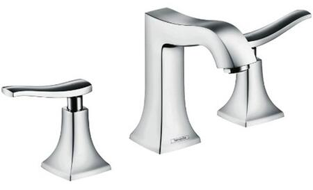 Hansgrohe 31073821 Metris C  Classic 2-Handle  6 Tall Bathroom Sink Faucet, Brushed Nickel