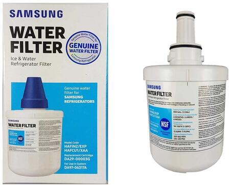 HAFCU1 Replacement Water Filter for Samsung Side-By-Side Refrigerators (Filter Number