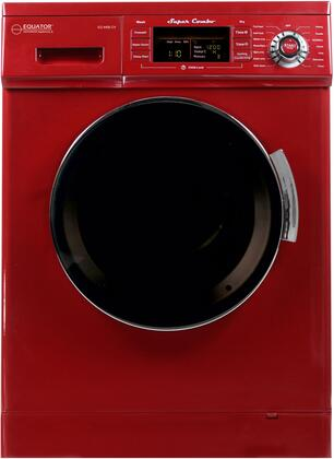 EZ4400CVMERLOT 24 inch  Washer/Dryer Combo with 1.57 cu. ft. Convertible Venting or Condensing Dry  Self Clean Option and Sensor Dry  in