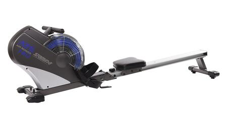 35-1402 ATS Air Rower with Wind Resistance  Padded Sliding Seat  Large Foot Plates  Foldable and Wheels for 607467