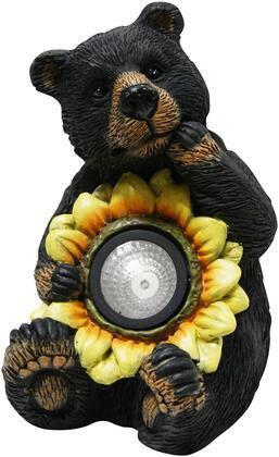 GXT520SLR Black Bear with Solar Sunflower Garden
