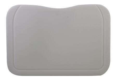 AB75PCB Rectangular Cutting Board with Polyethylene  Cut-Off Corner  Grooved Channels  Sturdy Design in