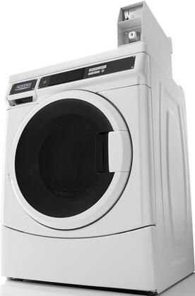 "White Front Load Laundry Pair with MHN33PDCWW 27"""" Washer and MDE28PDCYW 27"""""" 717023"