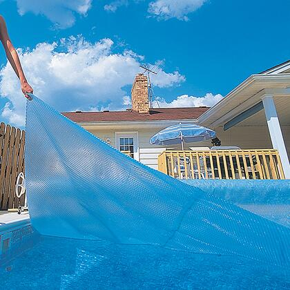 NS420 12-mil Solar Blanket for Rectangular 16-ft x 32-ft  In-Ground Pools -