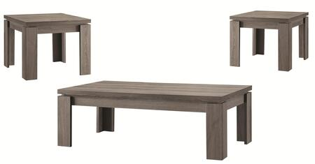 701686 3-Piece Occasional Table Set with Coffee Table and 2x End Tables in