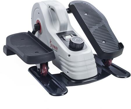 SF-E3872 Magnetic Under Desk Elliptical with Digital Monitor  Adjustable Resistance  Flywheel  Carry Handle  Non-Slip Foot Pedals  and Stabilizer  in
