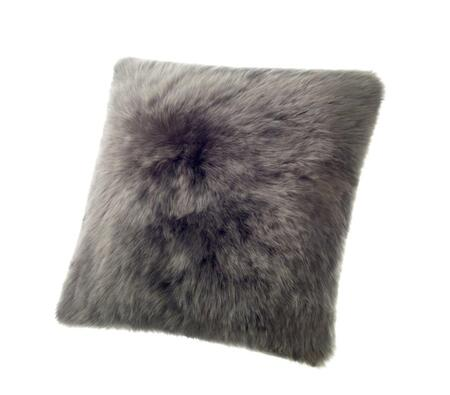 Auskin CLS50F-ST 20 inch  Square Sheepskin Wool Cushion in