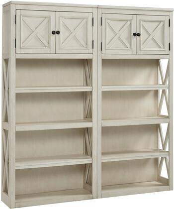 Bolanburg Collection H647-17(2) 2-Piece Bookcase Set with 2 34