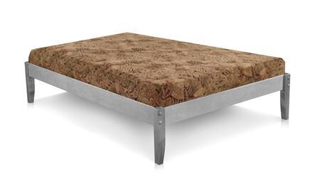 4529831-F Solid Wood Platform Bed