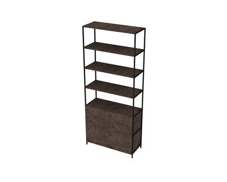 27805WT Wide Bookcase in Terrarum