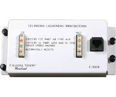 4-Line Telecom Surge Protector